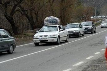 محدودیت های ترافیکی محورهای مواصلاتی کشور تا ۱۶ فروردین اعلام شد