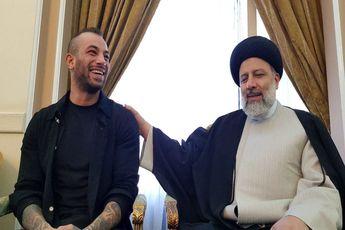 دیدار تتلو با ابراهیم رئیسی + فیلم / تکذیب برگزاری کنسرت «تتلو» در برج میلاد