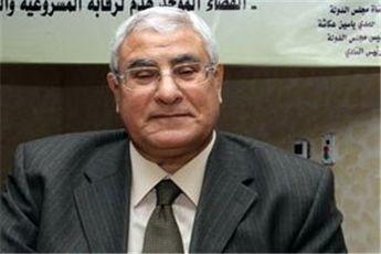 عدلی منصور رئیس جدید سرویس اطلاعات مصر را منصوب کرد