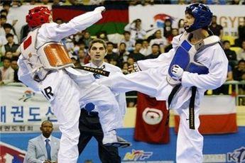 مبارزه ۲ نماینده ایران در روز نخست