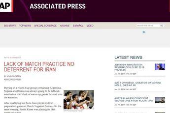 ۵ ستاره احتمالی ایران در جام جهانی ۲۰۱۴