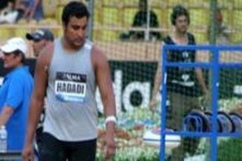 حدادی در مرحله اول لیگ دو و میدانی الماس هفتم شد