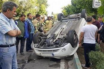 علل تصادفات در اردیبهشت ماه اعلام شد