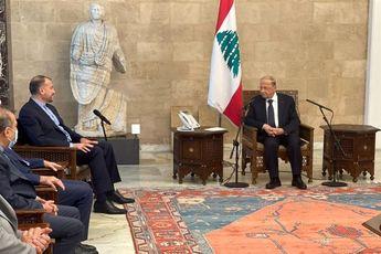 دیدار امیرعبداللهیان با مقامات بلند پایه لبنان