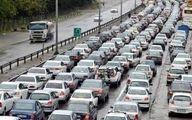 ترافیک در 13 جاده کشور