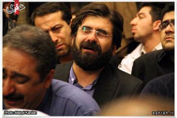 عکس / گریه ۲ مجری سیما برای مداح فقید