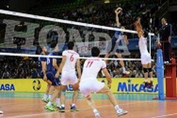 شاهکار والیبالیستهای ایران در لیگ جهانی