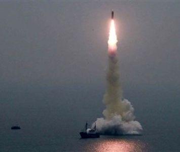 موشک زیر دریایی کره شمالی