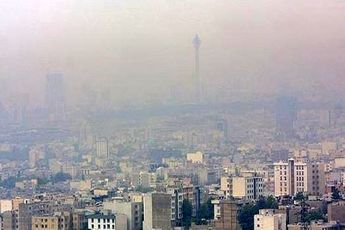 ۴ برابری سکته قلبی به دلیل آلودگی هوا