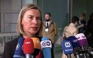 موگرینی: تصمیمی برای اعمال تحریم علیه ایران نداریم