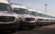 آمبولانس های پیشرفته بنز به ناوگان وزارت بهداشت پیوست