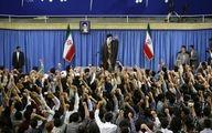 دیدار مقام معظم رهبری با هزاران دانشجو
