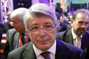 رئیس اتلتیکومادرید: شانس صعود ما و بارسلونا ۵۰-۵۰ است