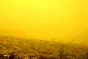 هوای سنندج در حالت اضطراری