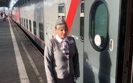 کری شبانه در قطار مسکو به سن پطرزبورگ!