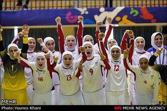 بانوان ایران فینالسیت شدند
