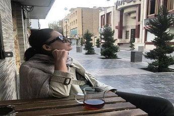 بازیگر معروف ترکیه ای بدون حجاب در ایران! + عکس