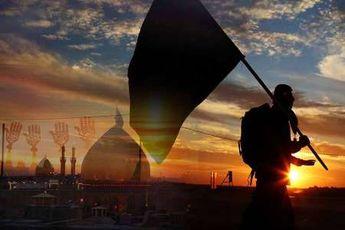 حضور 8 هزار نفری شهروندان قزوین در راهپیمایی اربعین