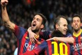 برد بارسا مقابل رئال در برنابئو / کاتالان ها با هت تریک مسی در یک قدمی صدر قرار گرفتند