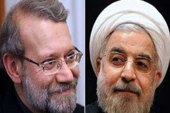روحانی و لاریجانی قهرمانی والیبال ایران را تبریک گفتند