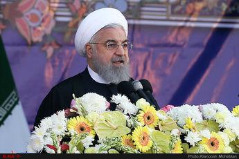 روحانی: آقای ترامپ! با دم شیر بازی نکن
