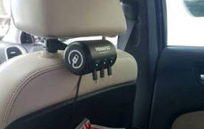 اقدام جالب یک راننده تاکسی برای رضایت مسافرانش (عکس)