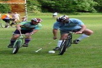 سایکل پولو(چوگان با دوچرخه) + عکس