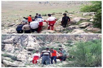 جان باختن جوان کرمانشاهی بر اثر سقوط از کوه بیستون