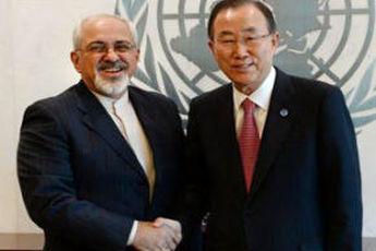 نامه ظریف به دبیر کل سازمان ملل درباره مرزبان ها و دیپلمات ایرانی ربوده شده
