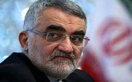 بروجردی ساخت مدل ایرانی RQ۱۷۰ را به سرلشکر جعفری تبریک گفت