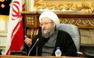 آملی لاریجانی : به قوه قضائیه آشکارا توهین شده است