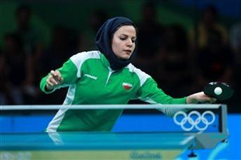 ندا شهسواری، پرچمدار ایران در اختتامیه