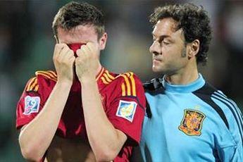 اسپانیا حذف شد