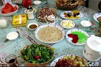 لوح ثبتی آیین سفره افطار ایرانی رونمایی میشود