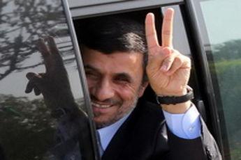 احمدینژاد در راهپیمایی روز قدس حضور یافت