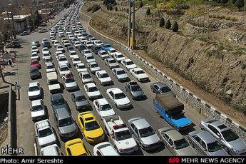 زمان اوج تردد در مسیرهای بین شهری از ساعت ۱۷ تا ۱۸ است / مسافران زمان حرکت خود را تنظیم کنند